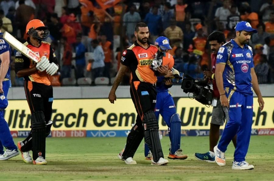 Sunrisers Hyderabad crush Mumbai Indians,Sunrisers Hyderabad beats Mumbai Indians,Sunrisers Hyderabad,Mumbai Indians,Indian Premier League,Indian Premier League 2017,IPL,IPL 2017