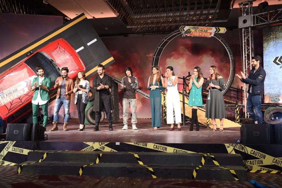 Rohit Shetty,Khatron Ke Khiladi Season 8,Khatron Ke Khiladi,Khatron Ke Khiladi 8,Fear Factor: Khatron Ke Khiladi,Ravi Dubey,Karan Wahi