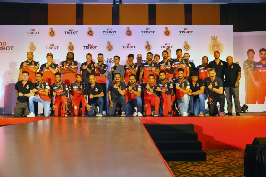 Tissot,Tissot Partners,RCB,Royal Challengers Bangalore,Swiss watch brand