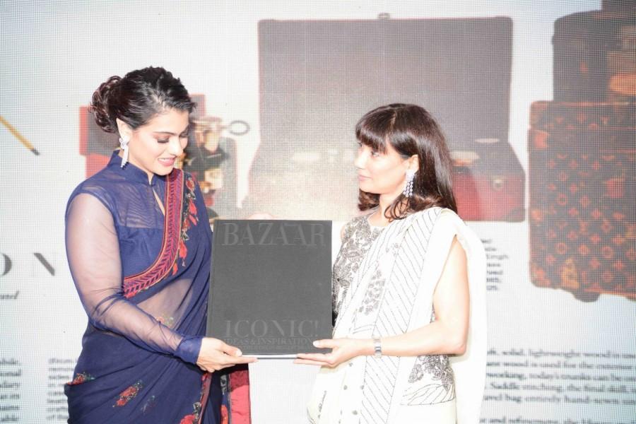 Kajol,actress Kajol,Kajol launches 'The Iconic Book',The Iconic Book,Harper's Bazaar,Harper Bazaar,The Iconic Book launch