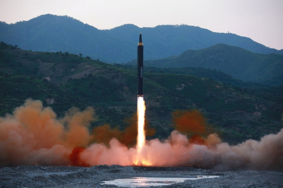 North Korea,North Korea missile launch,missile launch,North Korea's successful missile test-launch,ballistic missile,missile,north korea missile test,Kim Jong Un