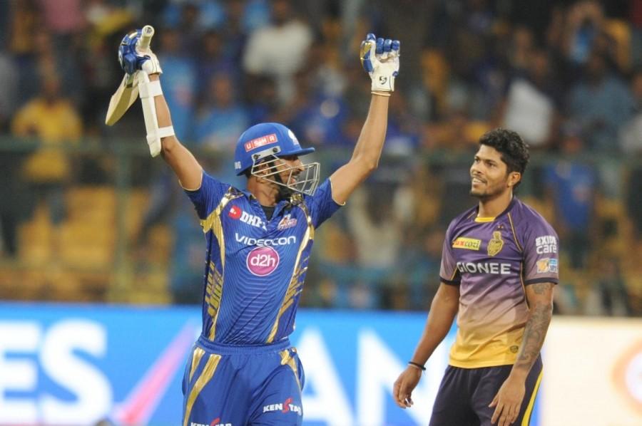 Mumbai Indians beats Kolkata Knight Riders,Mumbai Indians,Kolkata Knight Riders,IPL 2017,IPL,Krunal Pandya