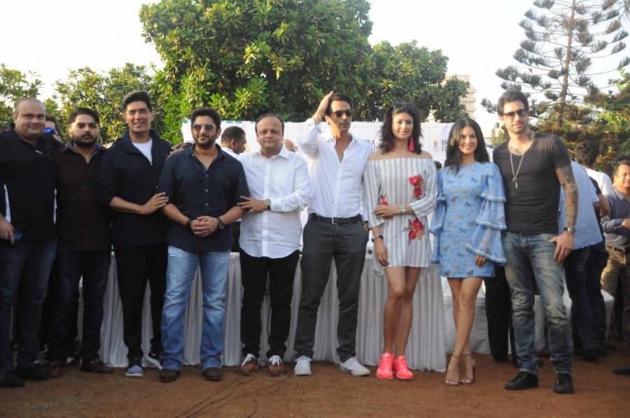 Sunny Leone,Arjun Rampal,Arshad Warsi,Tree Plantation drive,Pooja Batra,tree plantation,Sunny Leone at tree plantation