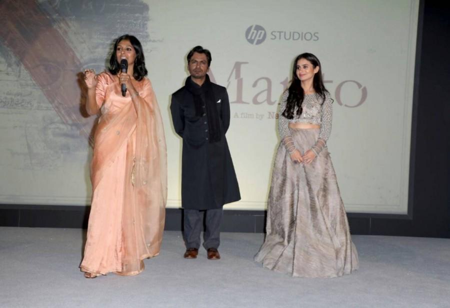 Nawazuddin Siddhiqui,Rasika Dugal,Nandita Das,Manto night at Cannes,Manto night,Manto night promotion,Manto night movie promotion