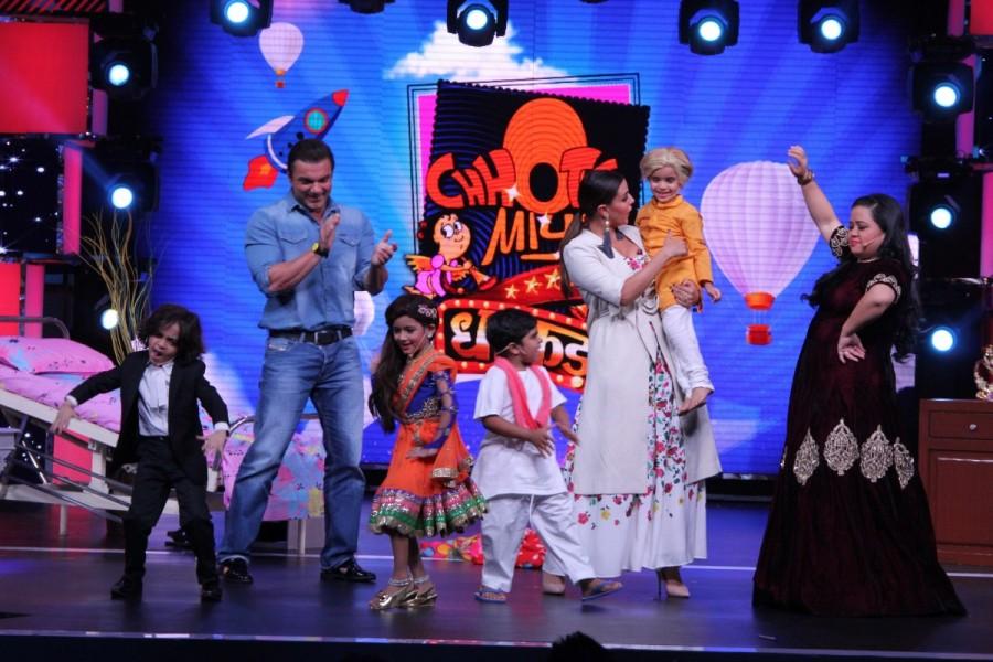 Neha Dhupia and Sohail Khan,Neha Dhupia,Sohail Khan,Chhote Miyan Dhaakad,actress Neha Dhupia