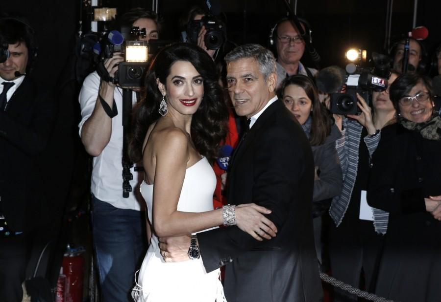 Amal Clooney,George Clooney,Amal and George Clooney welcome twins,Amal Clooney welcome twins,George Clooney welcome twins