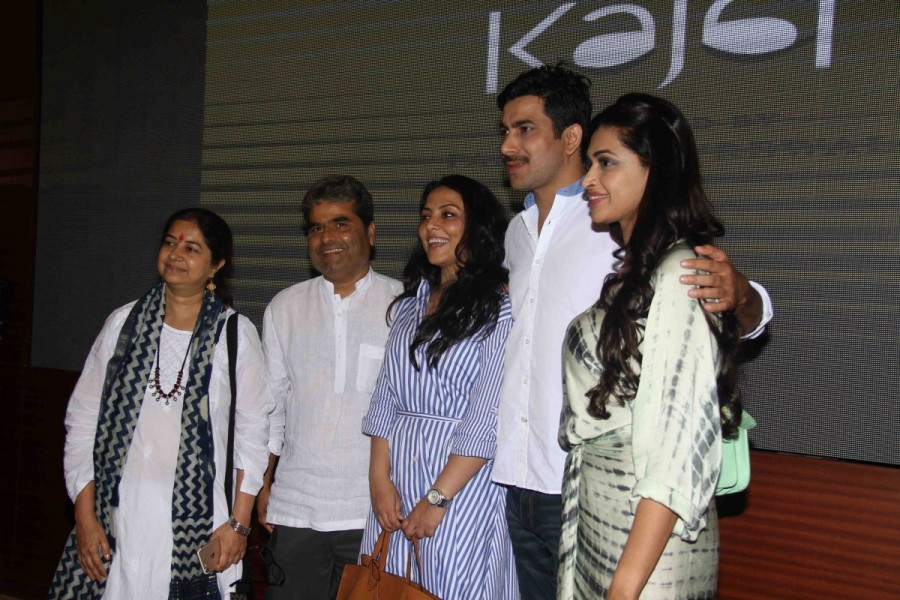 Rekha Bhardwaj,Filmmaker Vishal Bhardwaj,actors Pakhi Tyrewala,Sunil Kumar Palwal,Salony Luthra,Kajal short film screening,Kajal short film