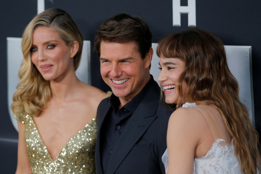 Tom Cruise,Annabelle Wallis,Sofia Boutella,Courtney B. Vance,Director Alex Kurtzman,The Mummy,The Mummy premiere show,The Mummy premiere show pics,The Mummy premiere show images,The Mummy premiere show stills,The Mummy premiere show pictures,The Mummy pre
