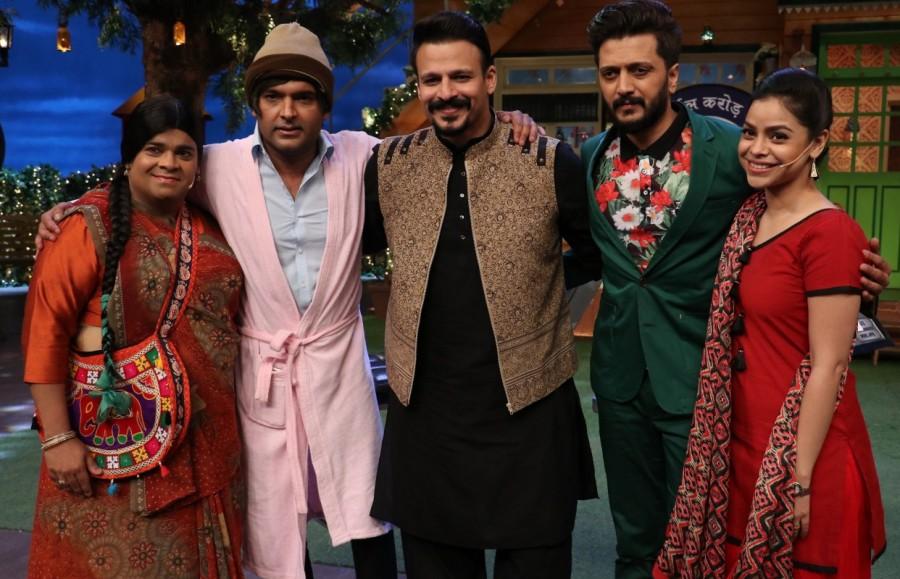 The Kapil Sharma,Cast of Bank Chor,Bank Chor,Vivek Oberoi,Riteish Deshmukh