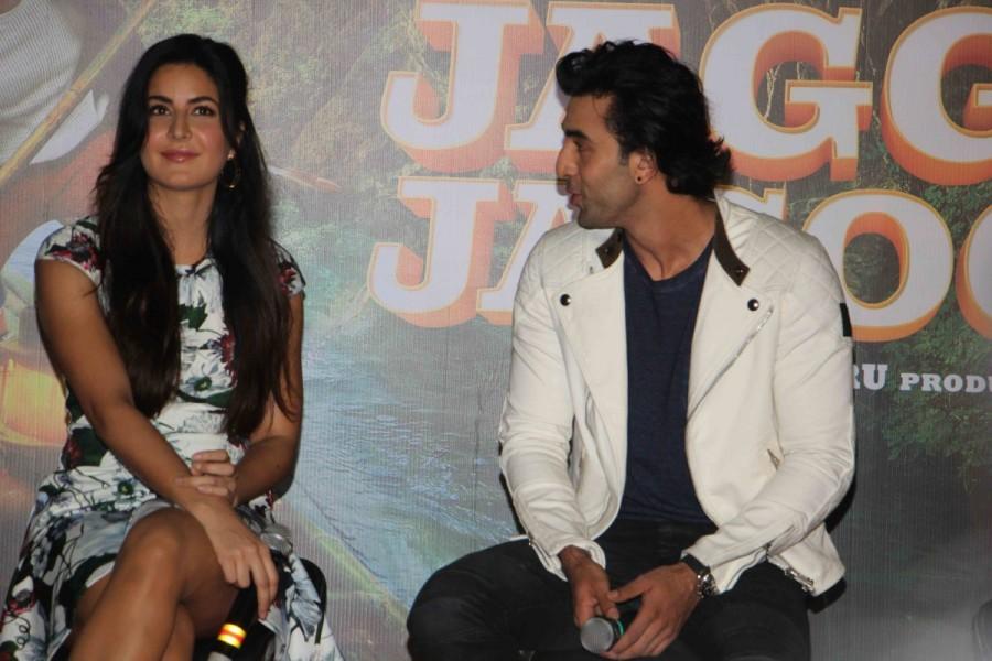 Katrina Kaif and Ranbir Kapoor,Katrina Kaif,Ranbir Kapoor,Jagga Jasoos,Galti Se Mistake,Galti Se Mistake song,Galti Se Mistake song launch