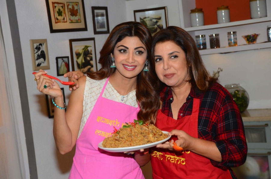 Shilpa Shetty,Farah Khan,Shilpa Shetty shoot special Eid episode for Wellness channel,Eid episode,Eid special episod,Wellness channel,actress Shilpa Shetty,bollywood actress Shilpa Shetty
