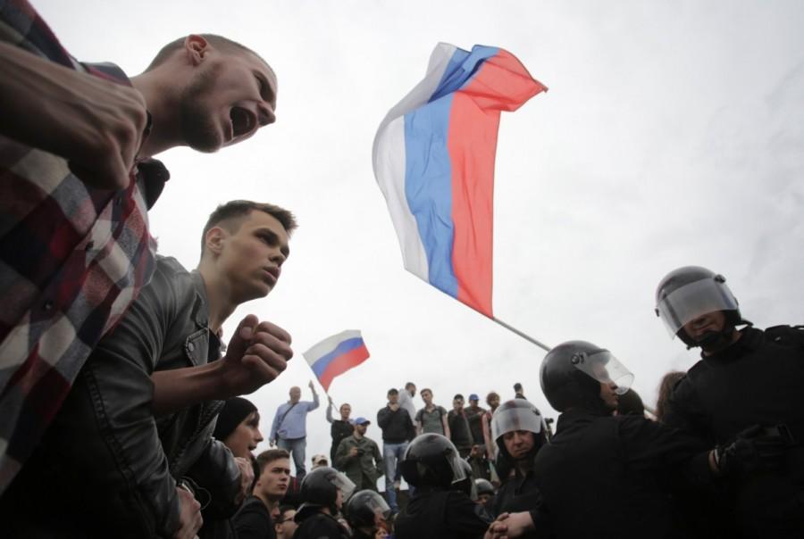 Alexei Navalny,Russian opposition leader Alexei Navalny,Anti-Putin protesters,anti-government demonstrations,protesters against Alexei Navalny