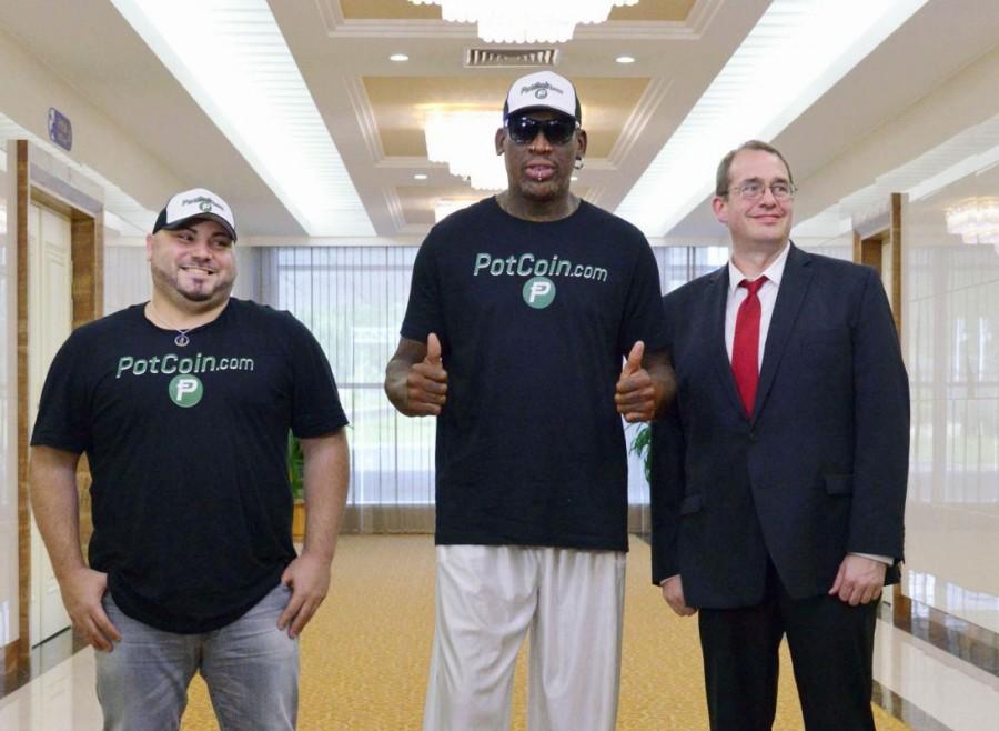 Dennis Rodman,Dennis Rodman returns to North Korea,Dennis Rodman returns,Former NBA star Dennis Rodman,NBA star Dennis Rodman,Kim Jong Un