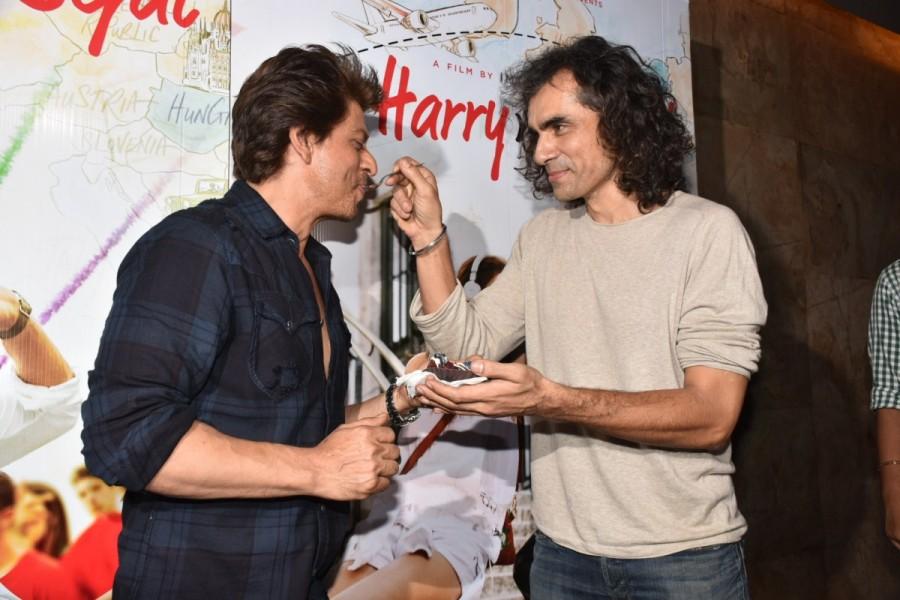 Shah Rukh Khan,Imtiaz Ali,Imtiaz Ali birthday,SRK,Shah Rukh Khan and Imtiaz Ali,Jab Harry met Sejal