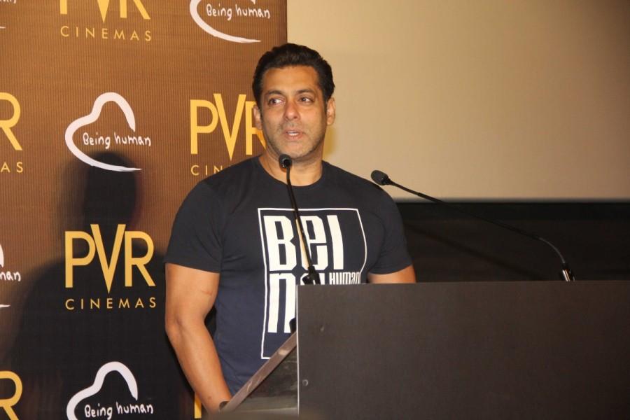 Being Human Foundation,Salman Khan,actor Salman Khan,PVR Cinemas
