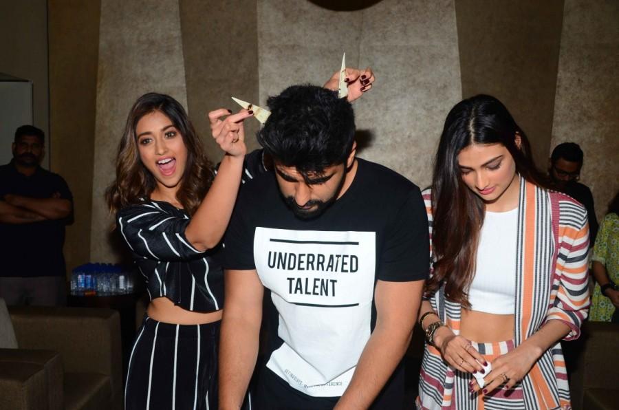 Arjun Kapoor,actor Arjun Kapoor,Arjun Kapoor birthday,Arjun Kapoor birthday celebrations,Arjun Kapoor celebrates birthday,Hawa Hawa,Ileana D'Cruz,Athiya Shetty