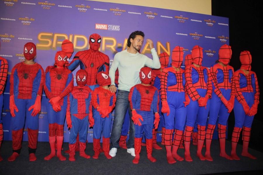 Tiger Shroff,actor Tiger Shroff,Spider-Man,Hindi version of film Spider-Man