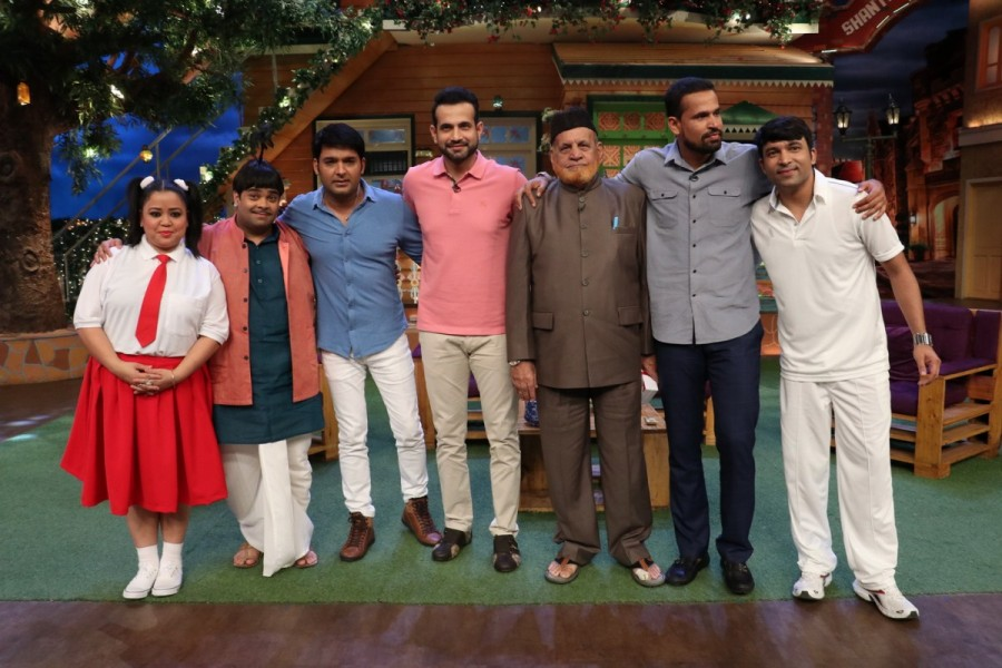 Kapil Sharma Show,The Kapil Sharma Show,Pathan Brothers,Yusuf Pathan,Irfan Pathan
