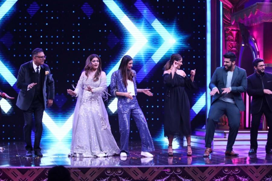 Athiya Shetty,Ileana D'Cruz,Arjun Kapoor,Anil Kapoor,Sabse Bada Kalakar,Mubarakan,Mubarakan cast,Mubarakan team