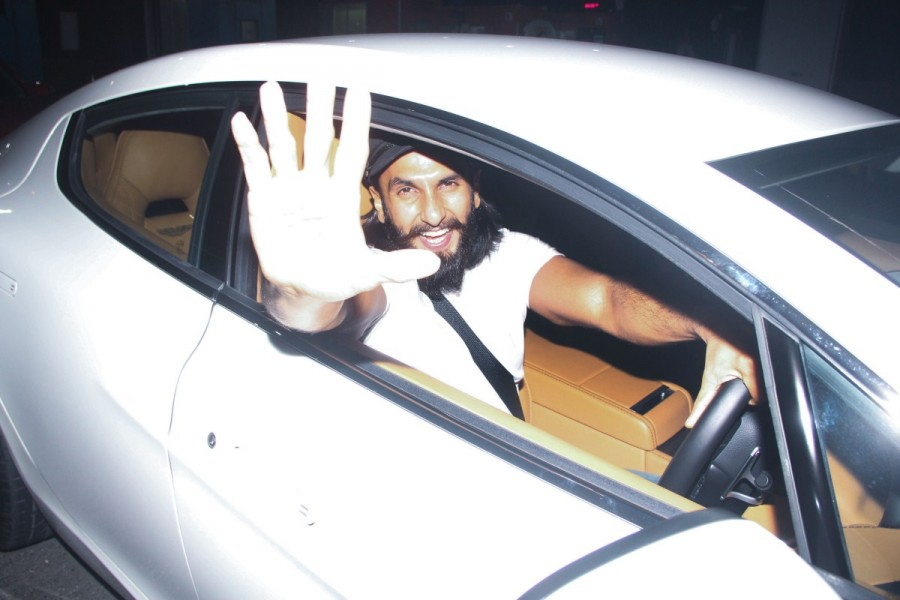 Ranveer Singh,actor Ranveer Singh,Ranveer Singh birthday,Ranveer Singh spotted at toll plaza