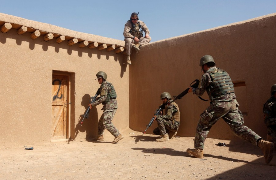 Afghan National Army,Afghan National,National Army,U.S. Marines,U.S. Marines train,Taliban insurgency