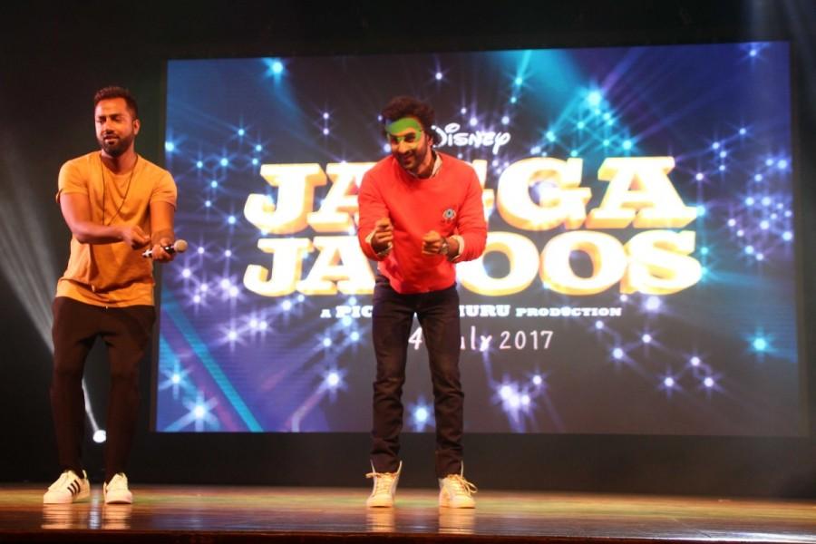 Ranbir Kapoor,Ranbir Kapoor promotes Jagga Jasoos,Jagga Jasoos,Ranbir Kapoor promotes Jagga Jasoos film,Jagga Jasoos promotion,Jagga Jasoos movie promotion,Jagga Jasoos film promotion,St. Andrews Auditorium