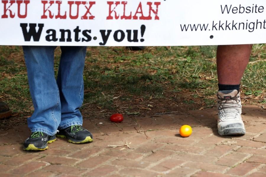 Ku Klux Klan,Ku Klux Klan rally,Ku Klux Klan rally in Virginia,Confederate monuments
