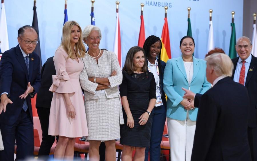 G20 Summit,G20 summit 2017,G20 Summit pics,G20 Summit images,G20 Summit stills,G20 Summit pictures,Argentinia's President Juliana Awada,Argentinia's President Mauricio Macri,French President's wife Brigitte Macron,French President Emmanuel