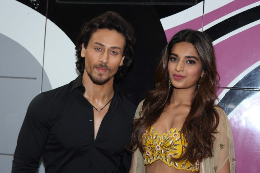 Tiger Shroff,Nidhhi Agerwal,Munna Michael,Munna Michael promotion,Munna Michael movie promotion,The Drama Company