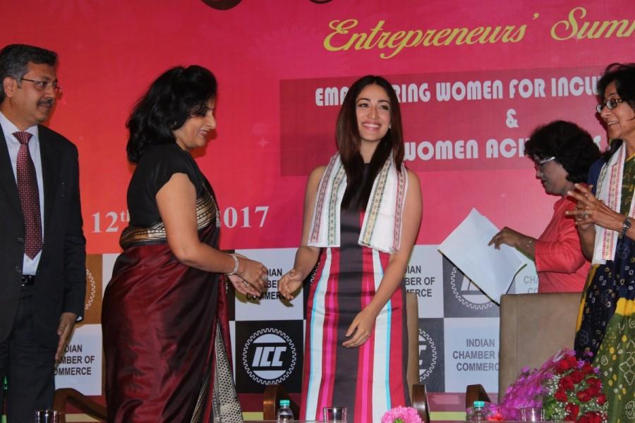 Yami Gautam,actress Yami Gautam,ICC Women Achiever Awards 2017,ICC Women Achiever Awards,Yami Gautam new pics,Yami Gautam new images,Yami Gautam new stills,Yami Gautam new pictures