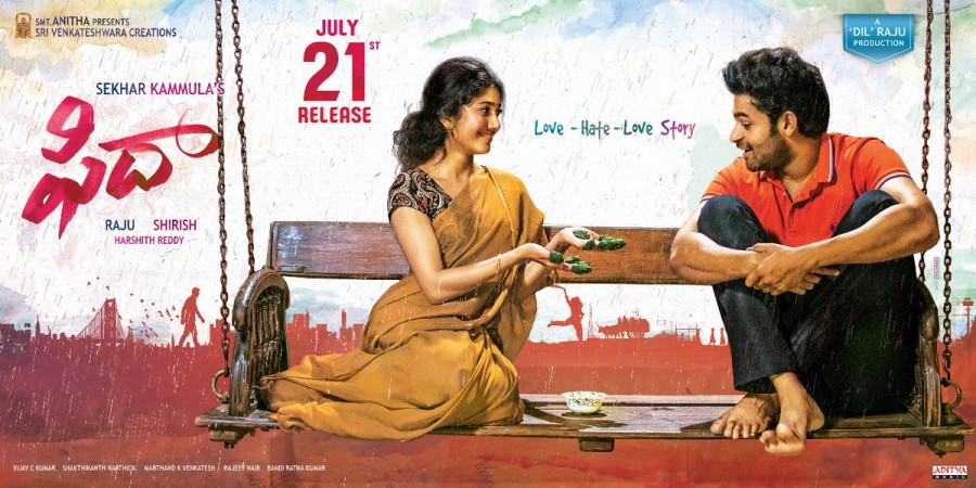 Sai Pallavi,VarunTej,Sai Pallavi and VarunTej,Varun Tej and Sai Pallavi,Sai Pallavi in Fidaa,Fidaa,Fidaa movie stills,Fidaa movie pics