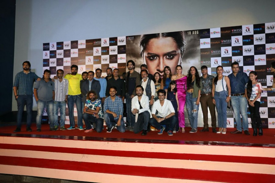 Shraddha Kapoor,Siddhanth Kapoor,Ankur Bhatia,Haseena Parkar,Haseena Parkar trailer launch,Haseena Parkar trailer,Haseena Parkar trailer launch pics,Haseena Parkar trailer launch images,Haseena Parkar trailer launch stills,Haseena Parkar trailer launch pi