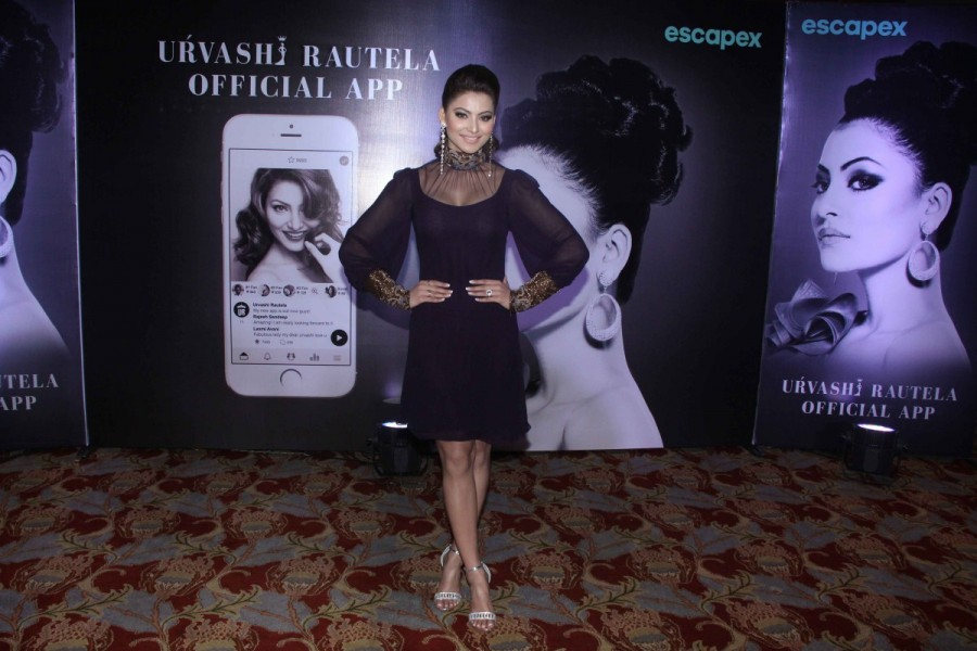 Urvashi Rautela,Urvashi Rautela app,Urvashi Rautela launches her own app,Urvashi Rautela own app,actress Urvashi Rautela