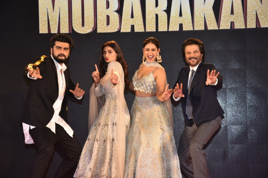 Anees Bazmee,Anil Kapoor,Bol Radha Bol,Aankhen,Anil Kapoor,Arjun Kapoor,Athiya Shetty,Ileana D'Cruz,Mubarakan,Mubarakan family