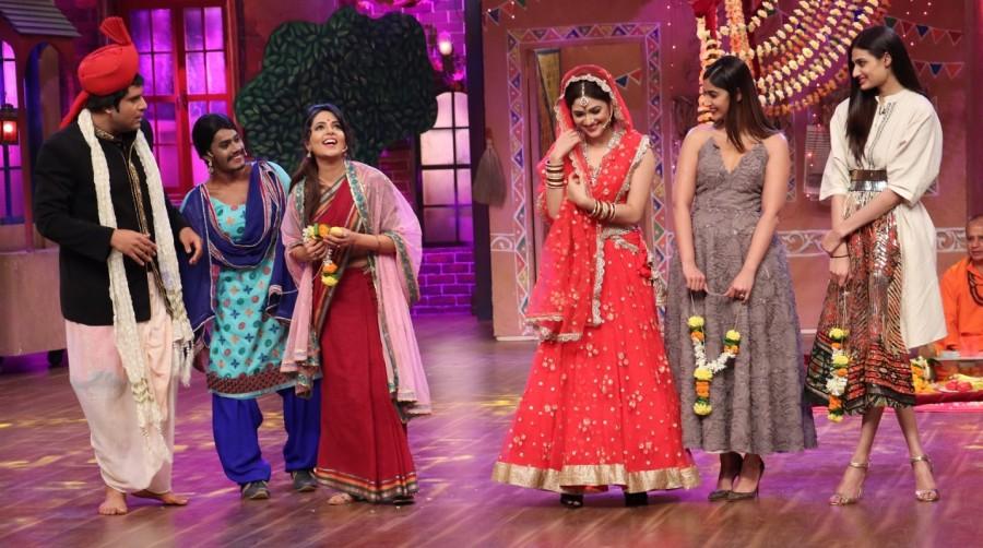 Anil Kapoor,Arjun Kapoor,Ileana D'Cruz,Athiya Shetty,Mubarakan,Mubarakan cast,The Drama Company