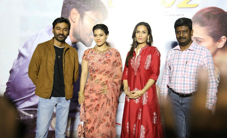 Dhanush,Kajol,Soundarya Rajinikanth,VIP 2 press meet,VIP 2,VIP 2 press meet pics,VIP 2 press meet images,VIP 2 press meet stills,VIP 2 press meet pictures,VIP 2 press meet photos