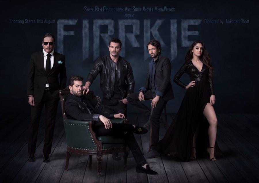 Firrkie first look poster,Firrkie first look,Firrkie poster,Firrkie movie poster,Neil Nitin Mukesh,Karan Singh Grover,Jackie Shroff,Kay Kay Menon,Sandeepa Dhar