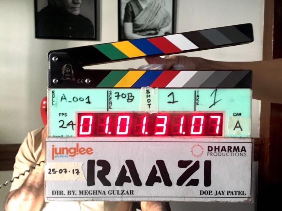 Raazi,Raazi movie,Raazi movie begins,Meghna Gulzar,meghna gulzar movie,Karan Johar