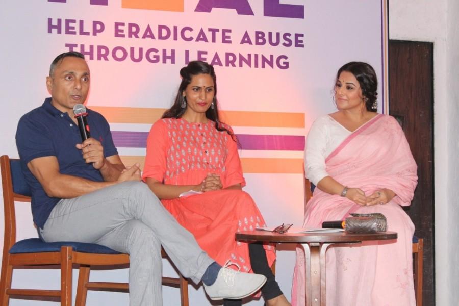 Vidya Balan,Rahul Bose,Vidya Balan and Rahul Bose,NGO against child sexual abuse,HEAL,child sexual abuse,HEAL: NGO