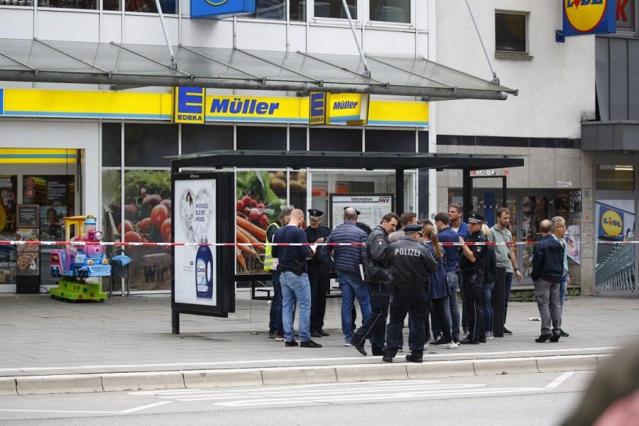 Hamburg,Hamburg supermarket,Hamburg supermarket attack,Hamburg attack,Knife attack at Hamburg,German city
