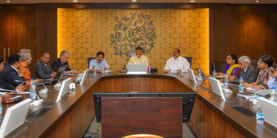 Jana Sena,Jana Sena chief,Pawan Kalyan,CM Chandrababu Naidu,Chandrababu Naidu,Pawan Kalyan meets CM Chandrababu Naidu