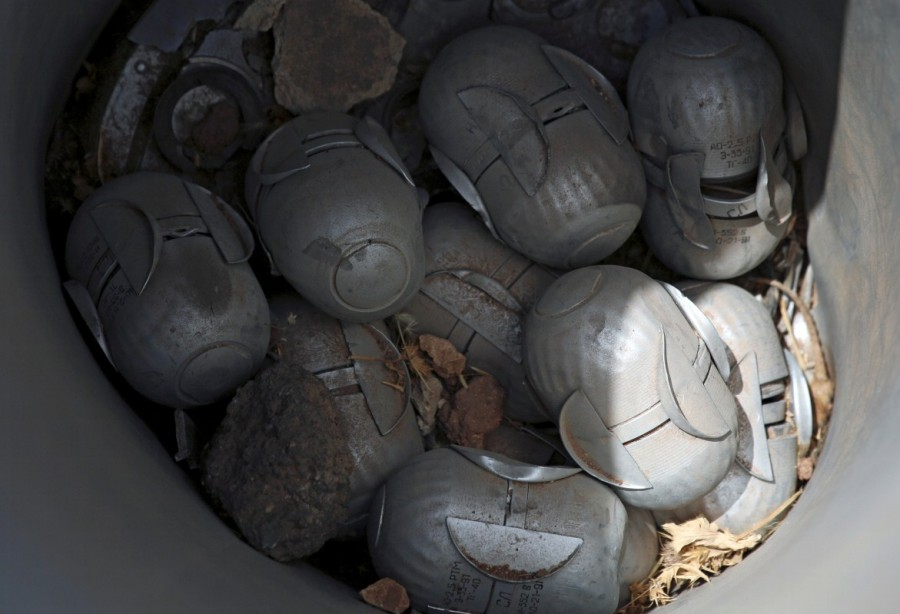Syria,southwest Syria,cluster bombs,Syria cluster bombs