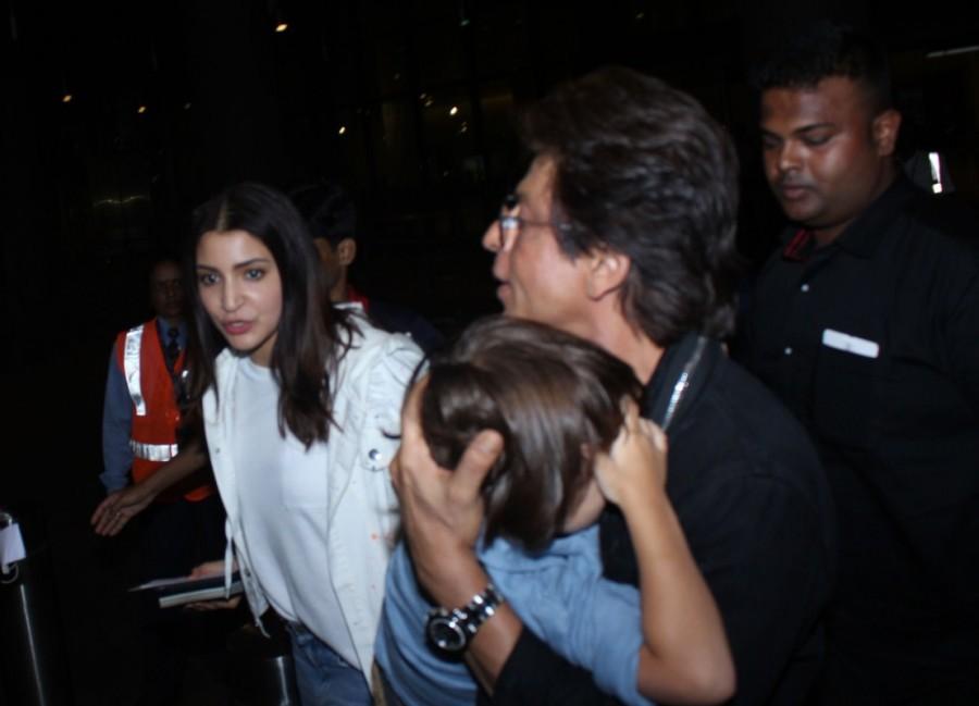 Shah Rukh Khan and Anushka Sharma,Shah Rukh Khan,Anushka Sharma,Abram Khan,SRK