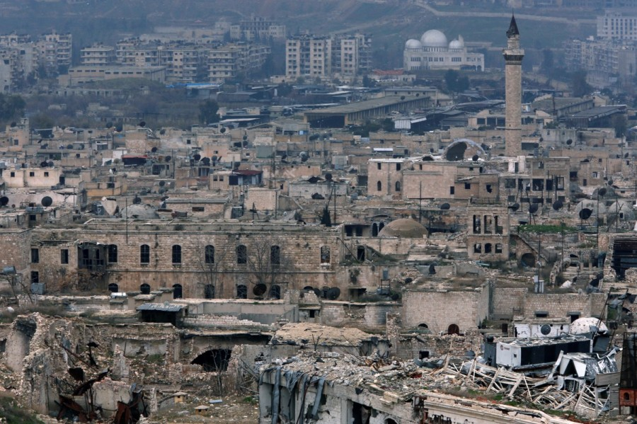Aleppo's Old City,Syria's civil war,United Nations cultural body,UNESCO,Aleppo