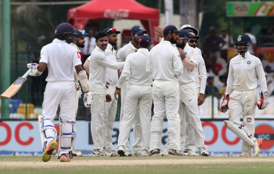 India beat Sri Lanka,India beat Sri Lanka in second Test,India beat Sri Lanka by innings and 53 runs in Colombo Test