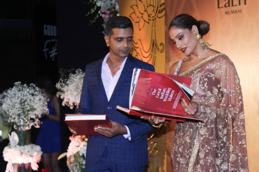 Bipasha Basu,actress Bipasha Basu,The Great Indian Wedding Book,The Great Indian Wedding Book launch,The Great Indian Wedding Book event