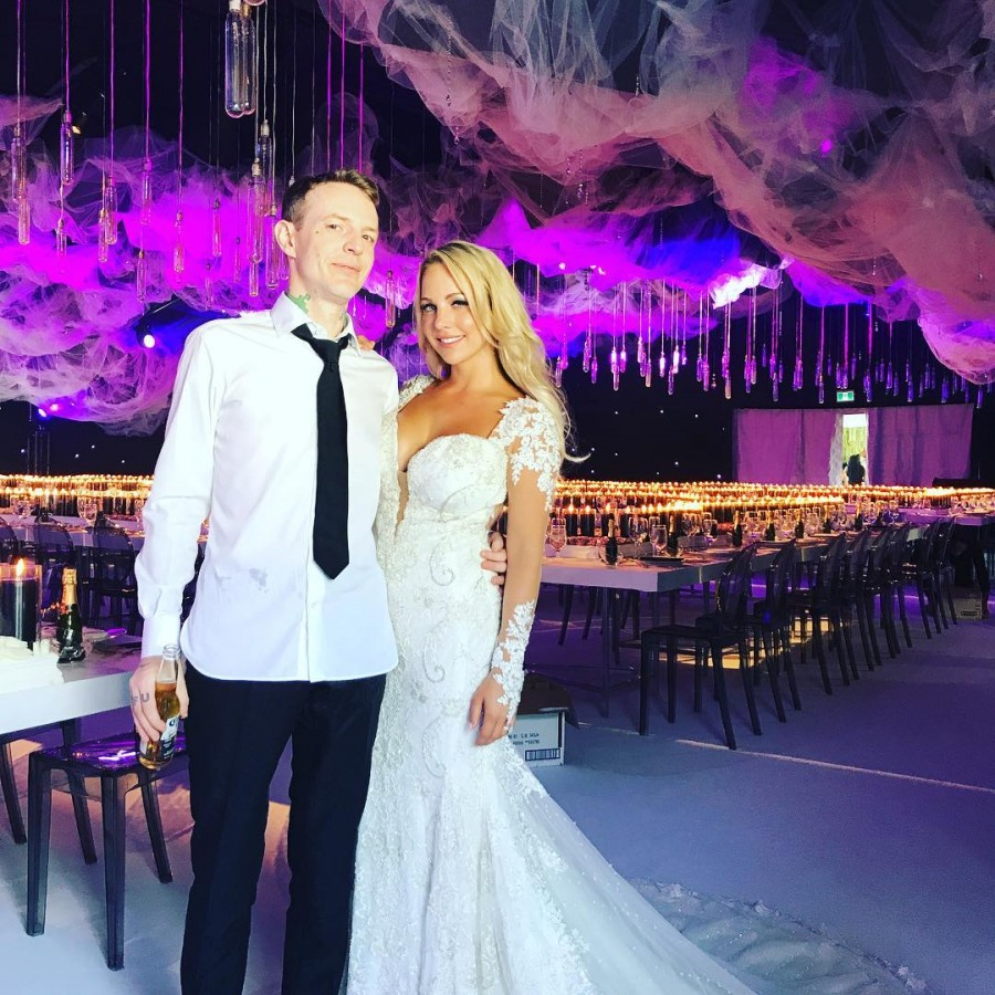 DJ Deadmau5,Kelly Fedoni,Deadmau5 marries Kelly Fedoni,Joel Thomas Zimmerman,girlfriend Kelly Fedoni,Canadian DJ Deadmau5