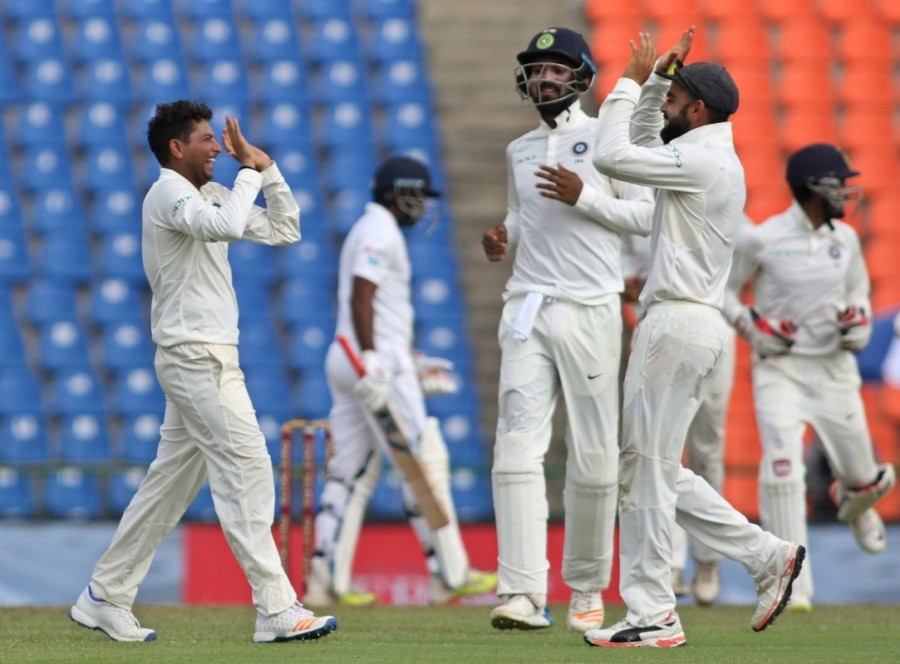 Dinesh Chandimal,Angelo Mathews,Third Test,India vs Sri Lanka,India vs Sri Lanka 2017,India vs Sri Lanka score,India vs Sri Lanka cricket match