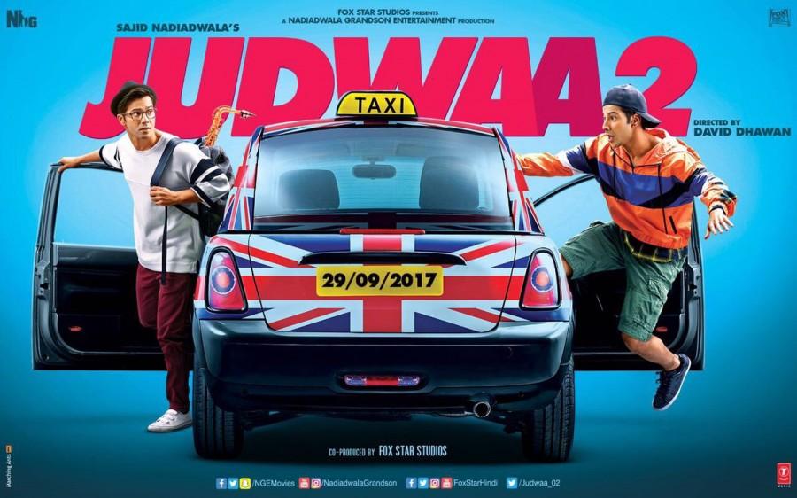 Varun Dhawan,actor Varun Dhawan,varun dhawan judwaa 2,Judwaa 2 first look poster,Judwaa 2 first look,Judwaa 2 poster,Judwaa 2 movie poster