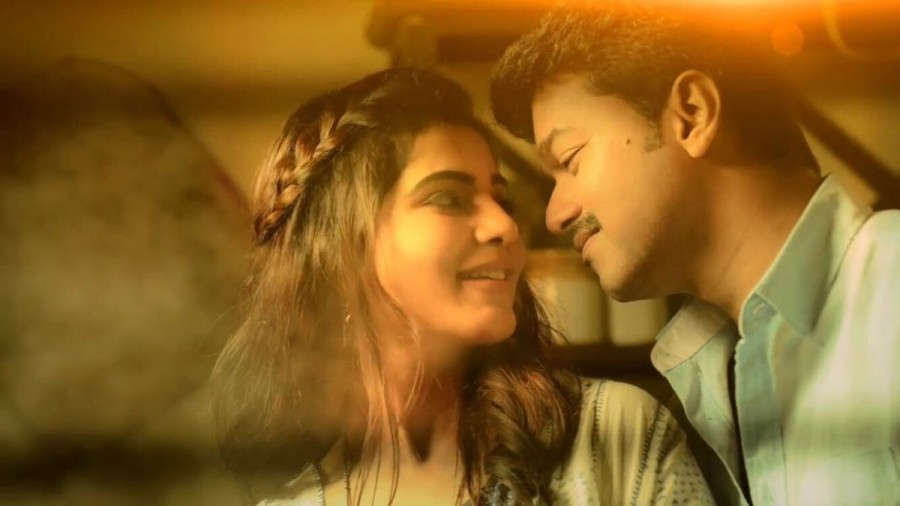 Vijay,Samantha,Vijay and Samantha,Neethanae Song Teaser,Neethanae Song,Neethanae Teaser,Mersal,Mersal songs,Mersal movie songs
